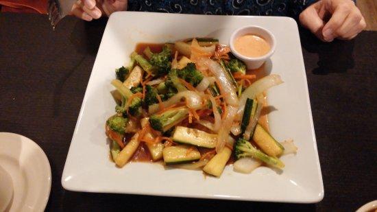 Warner Robins, GA: Veggie Teppanyaki