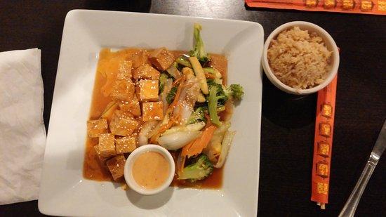 Warner Robins, GA: Tofu Teppanyaki