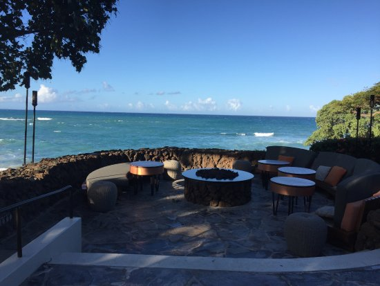 Fire Pit By Manta Restaurant Picture Of Mauna Kea Beach