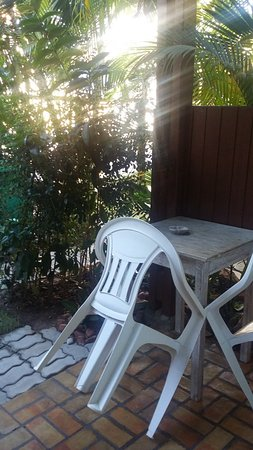 Casa Verde Apart: Jardín