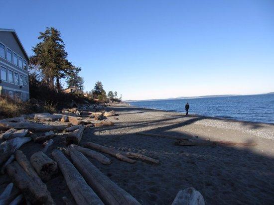 Saanich, Canada: Beach View