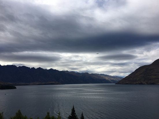 Heritage Queenstown: View from our lakefront suite