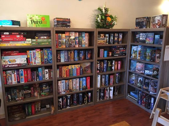Nanaimo, Canada: Come see our library of over 200+ games