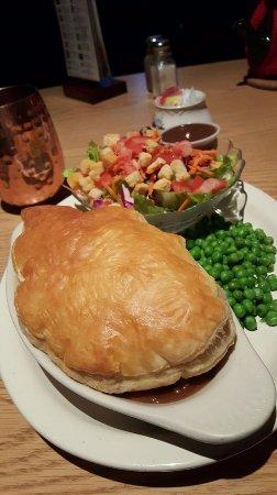 Newhall, CA: Steak and Mushroom Pie