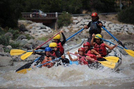 San Jose de Maipo, Chile: Rafting