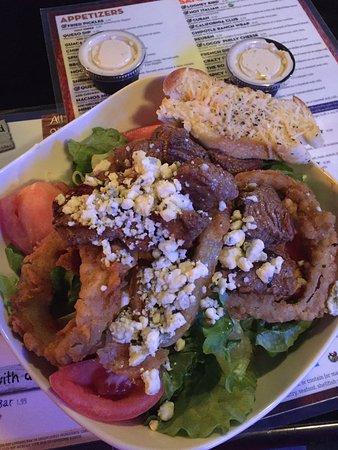 Statesboro, Джорджия: The Blue Moose Salad