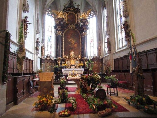 Wachau Valley : Sanctuary of St. Maurice in Spitz