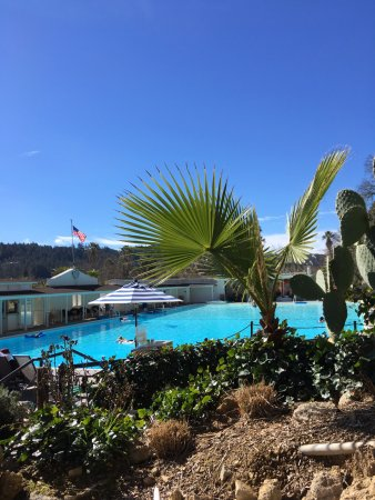 Indian Springs Resort and Spa: Olympic-sized hot springs pool