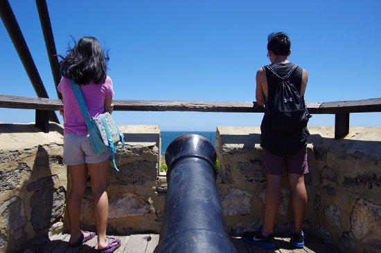 The Fremantle Round House: Canon eye view