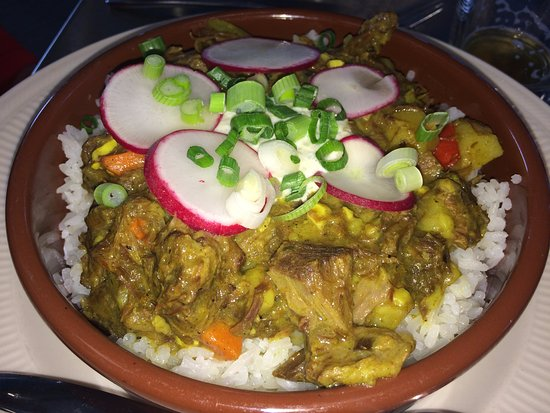 Ludlow, VT: Vermont Chevon Farms Jamaican Goat Curry