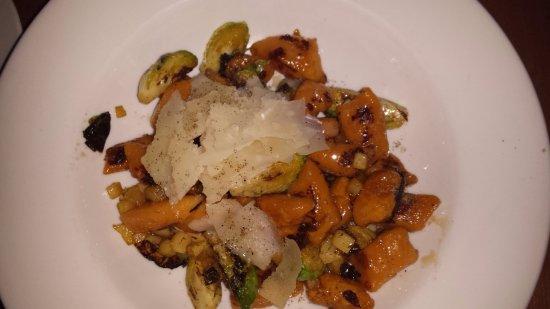 Trattoria Azzurra: Sweet potato Nioki
