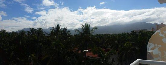Hilton Puerto Vallarta Resort: View from our room.
