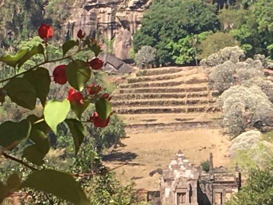 Champasak, Laos: Mooie lokatie