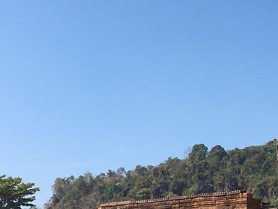 Champasak, Laos: Rustig complex