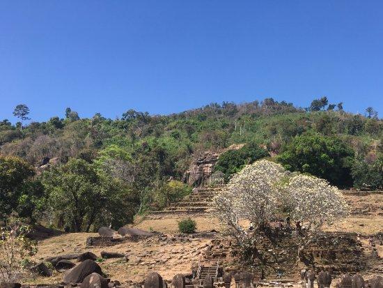 Champasak, Laos: Fijne plek