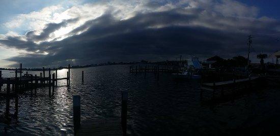 Cortez, FL: Panoramic from the Tiki