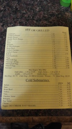 Newport, TN: Menu Page 2