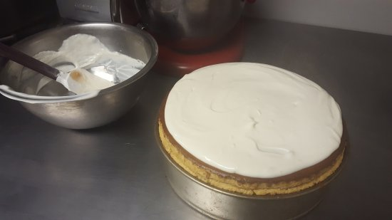 Littleton, CO: Homemade cheesecake right out of the oven!