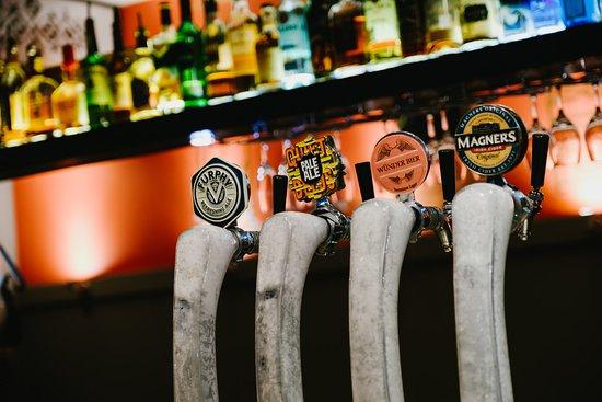 Windsor, Austrália: Beer taps