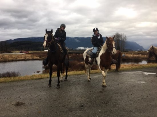 Pitt Meadows, Kanada: Mother & Daughter lifetime memories at the Leghorn Ranch!