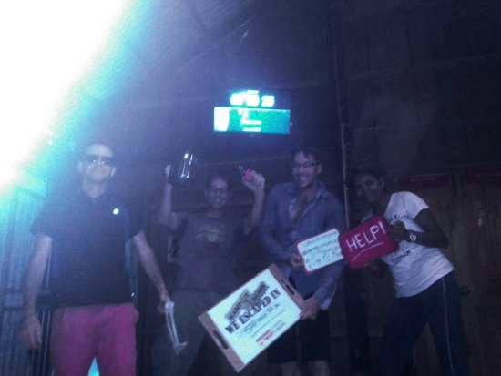 Kampot, Cambodge : Team Houdini