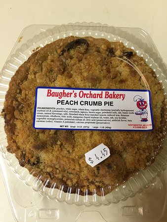 Westminster, MD: Personal mini pie from farm market right next door.
