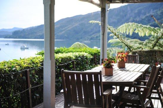 Anakiwa, New Zealand: Exterior Quiet space