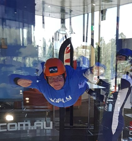 iFLY Downunder: Great fun! Can't wait for it to open in Melbourne