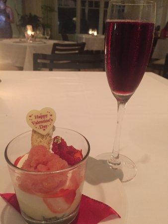 Beachhouse at the Moana: Dessert with wine pairing