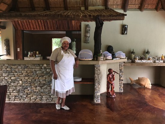 Marloth Park, Sudáfrica: Super chef Julia !!