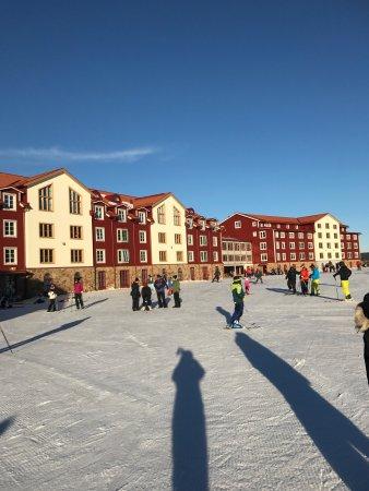 Romme Alpin Ski Lodge: Långweekend på Romme Alpin.