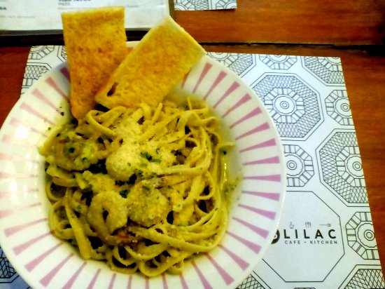 Marikina, الفلبين: Shrimp Pesto Pasta