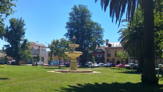 Goulburn, Australien: Water fountain