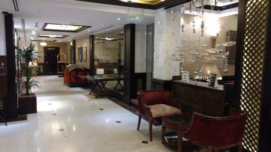 Arabian Courtyard Hotel & Spa: lounge