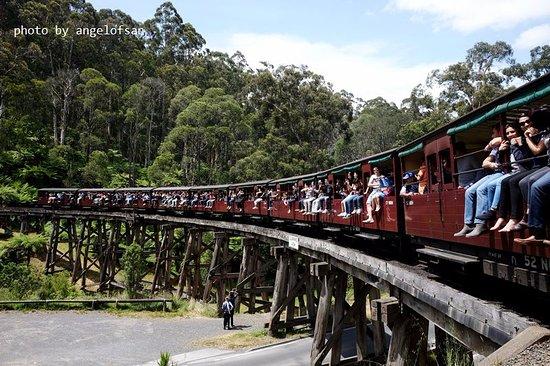 Belgrave, Australia: Puffing Billy Railway