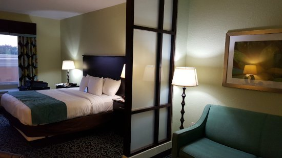 Comfort Suites at Fairgrounds - Casino : My Room