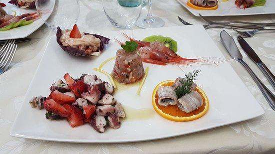 Barcellona Pozzo di Gotto, Włochy: antipasto