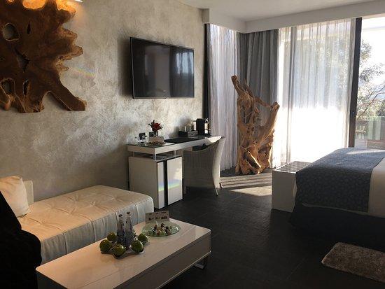 Salles Hotel Mas Tapiolas: Suite natura avec piscine privée magnifique