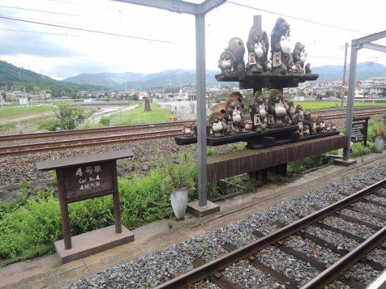 写真嵐山嵯峨野 トロッコ列車枚