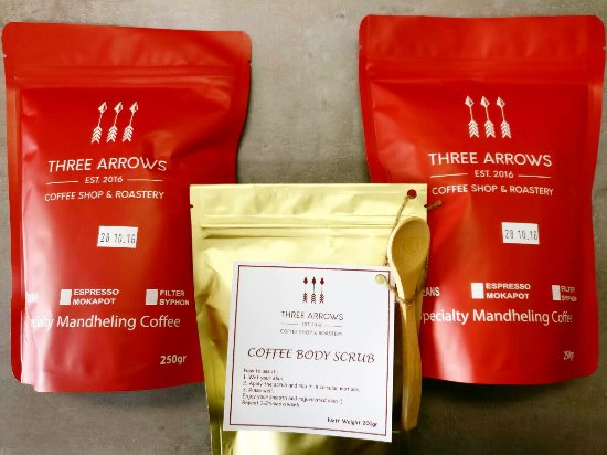 Petersham, Australia: Three Arrows Coffee in RED