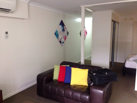 "Bargara, Australia: One bedroom ""studio"" with no view"
