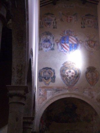 Pitigliano, İtalya: particolare altare maggiore