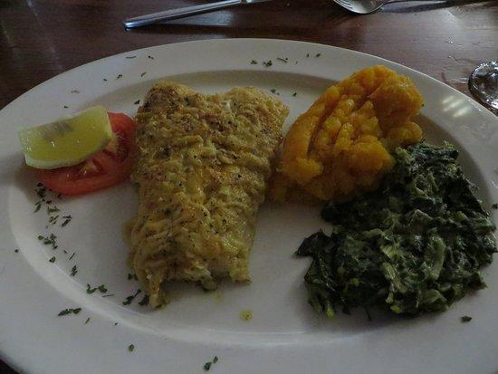 The Ocean Sizzler: het eten