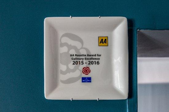 Aberdyfi (Aberdovey), UK: AA Rosette