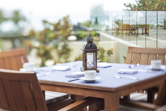 Del Mar, CA: L'Auberge_Dining_Coastline_Tabletop