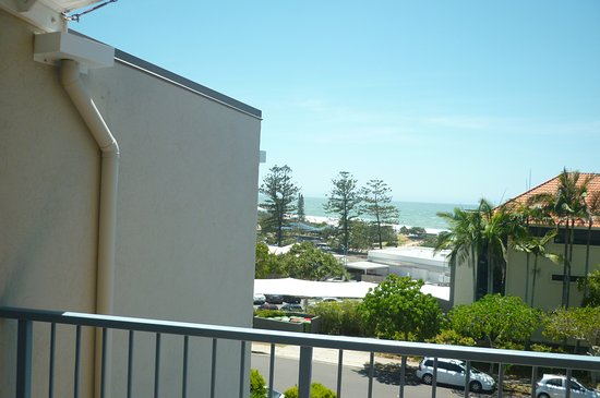 Coolum Beach, Australia: a part view from ROOM 29, balcony is wider than picture looks.