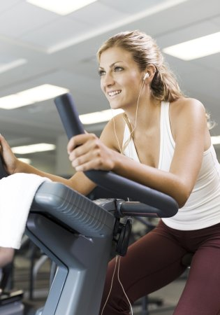 Natick, MA : Our fitness center allows guests to keep to their workout routine.
