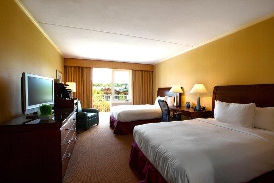 Tarrytown, NY: 2 Double Beds Balcony Room
