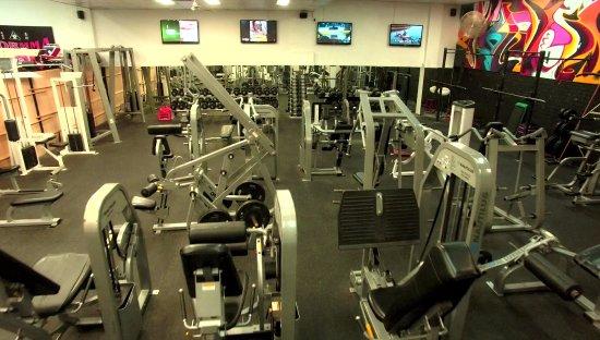 Bondi, Australia: Nautilus weights machines, free weights, lifting racks, everything you need
