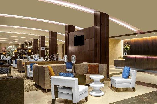 Hilton Times Square: Hotel Lobby